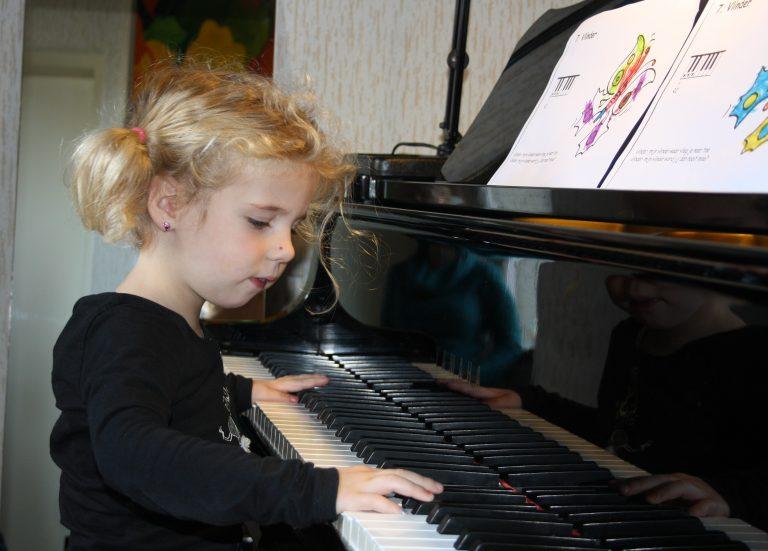 Pianoles kleuters