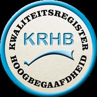 KRHB geregistreerd