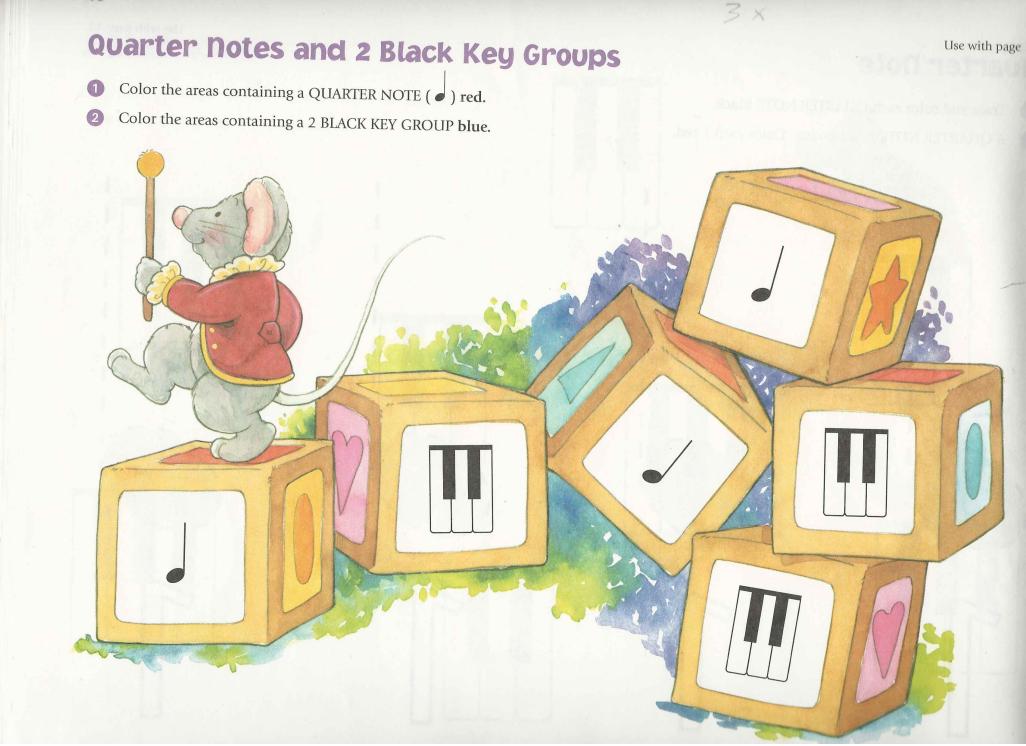 Uitdaging door pianospelen