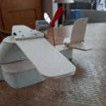 Vliegtuig gebouwd
